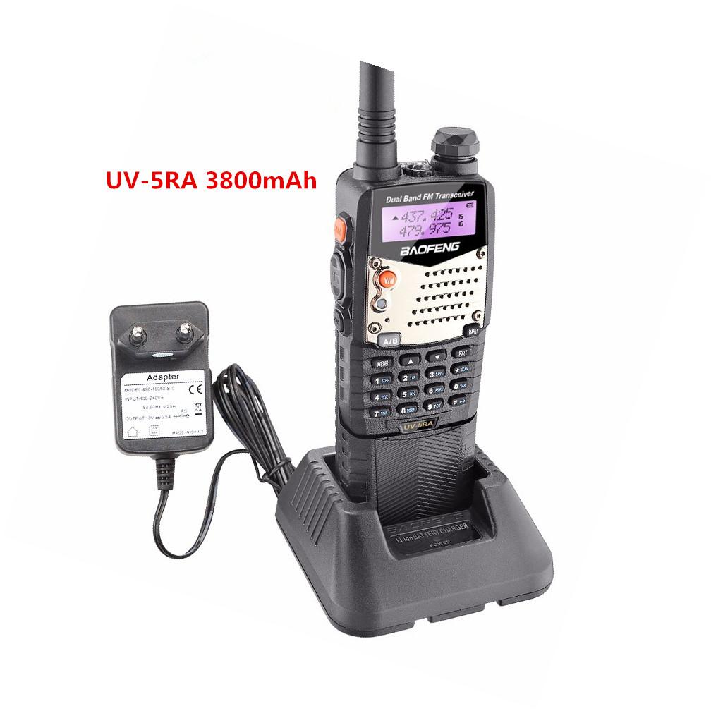 High power Baofeng UV5R ham radio with 3800mAh long battery
