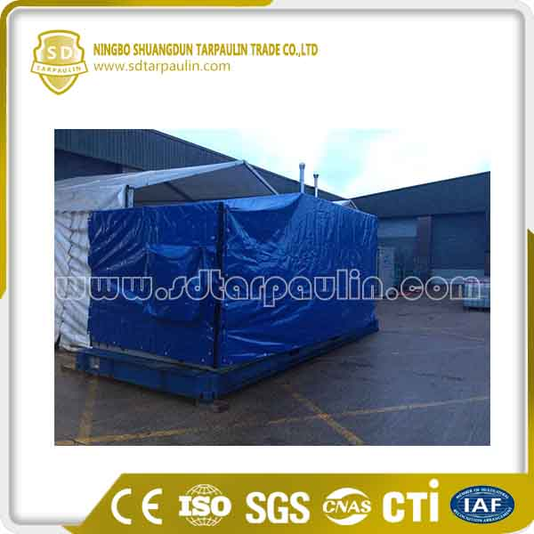 UV Resistant Machine Cover PVC Tarpaulin