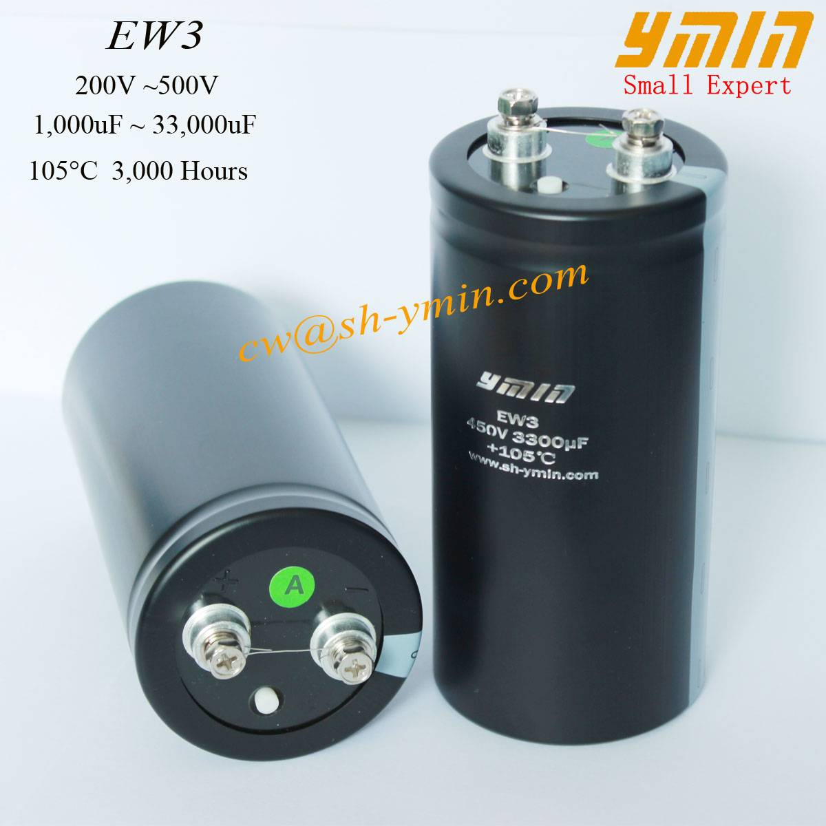 UPS Capacitor Screw Terminal Electrolytic Capacitor for UPS Power Supply