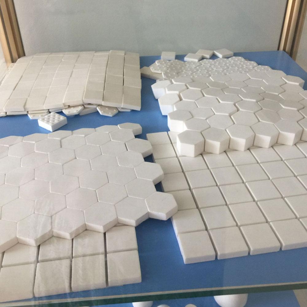 Wholesale Alumina Zirconia Ceramic 12.5mm Hexagonal Tile
