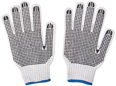 machine gloves/working gloves/builder's gloves/pvc dots gloves