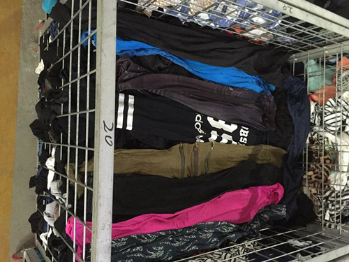 used leggings women used clothes sale high quality second hand clothing