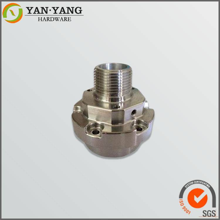 Sharp milling machine parts made in Dongguan