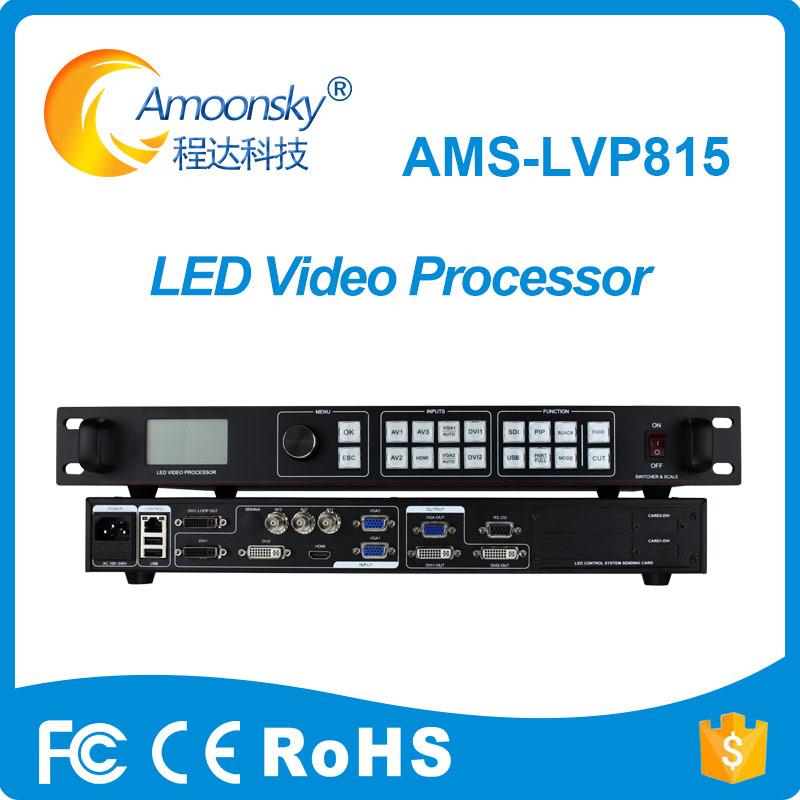flexible led display video processor lvp815 compare lvp605s video processor lvp615s in led displays