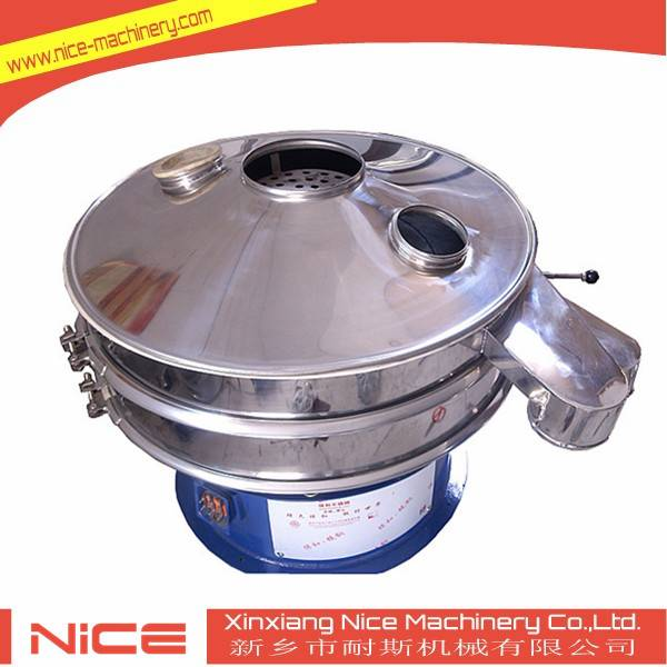Rotary vibrating sieve machine for removing impurity