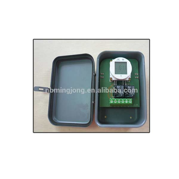 Reliable quality outdoor digital timer module with metal case