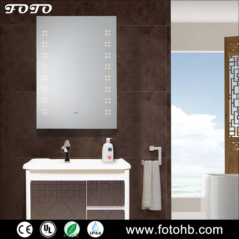 IP44 UL CE LED Illuminated Mirror for Bathroom