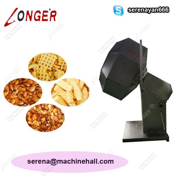 Snack Food Seasoning Machine|Photo Chips Flavoring Machine