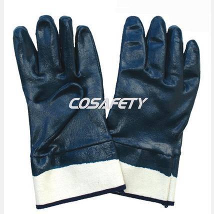 Blue Nitrile Coated Gloves (1003)