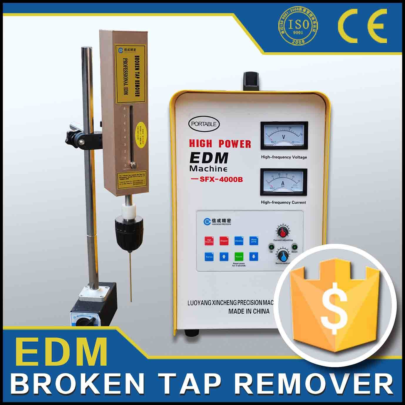 Punching machine with fast speed high effciency for broken taps