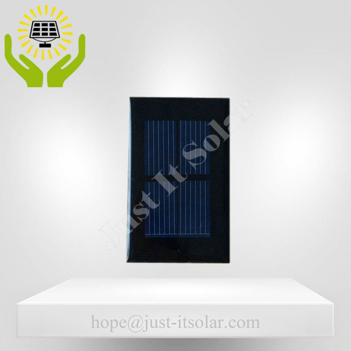 1V 200mA 0.2W Epoxy Resin Mini Solar Cell