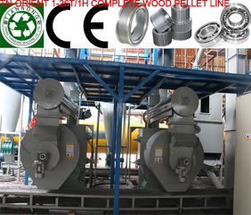 Complete Biomass Pelleting Line,Complete Biomass Pelleting Plant