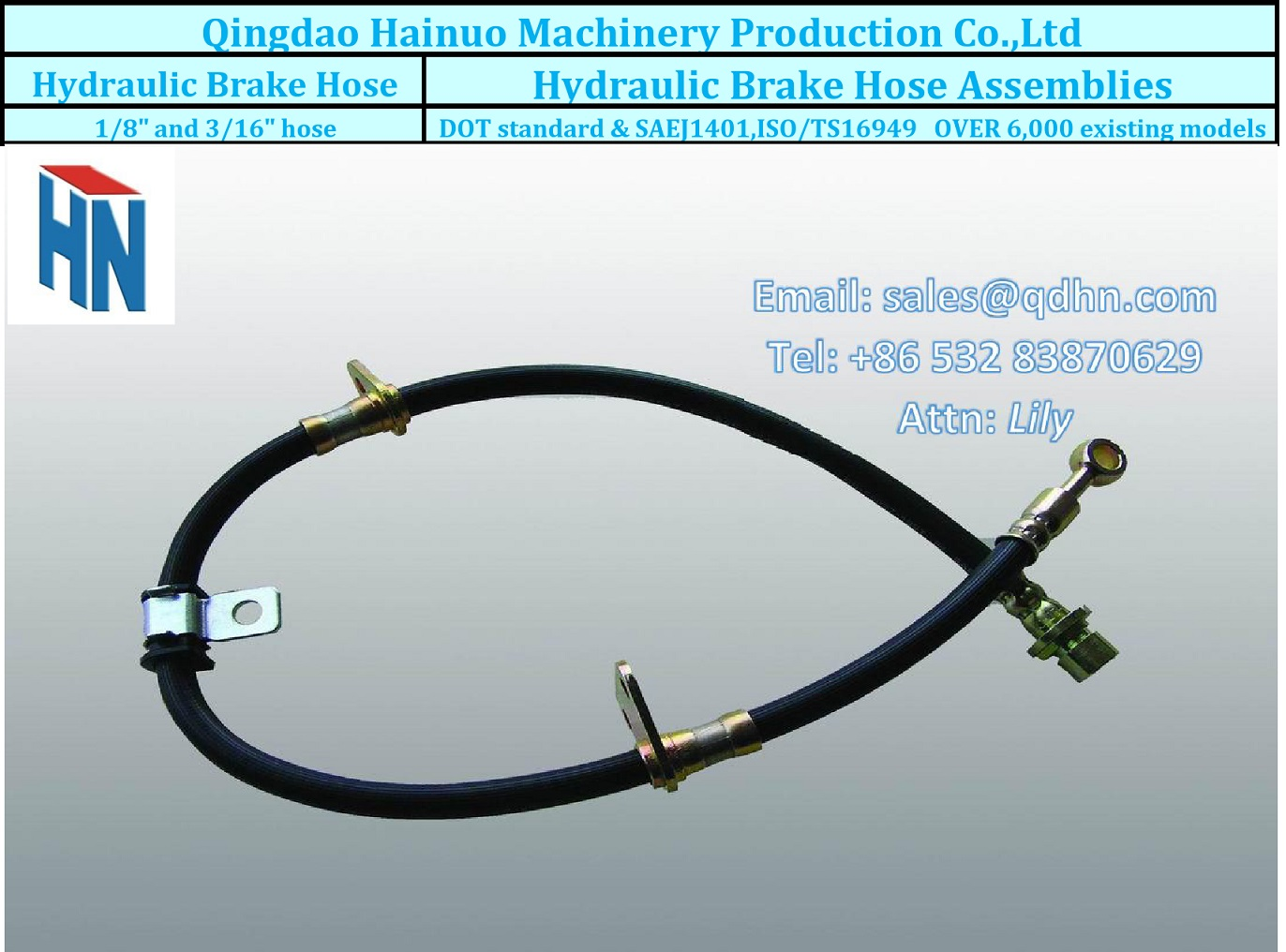 brake hydraulic hose kit