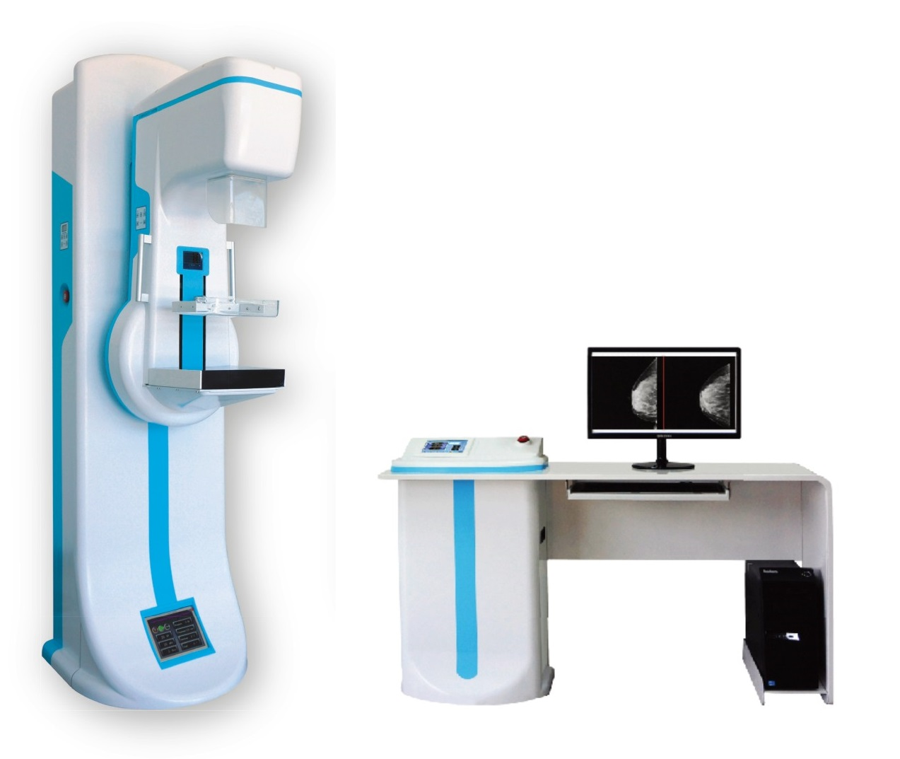MEGA600 breast diagnosis x ray digital mammography machine women healthcare mammography equipment