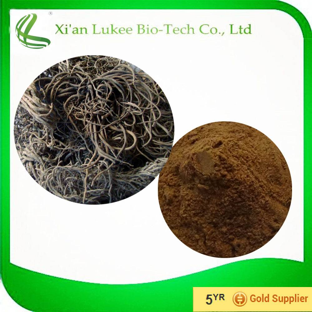 Powder Form Valerian Root Extract of 0.8% Valerianic Acid