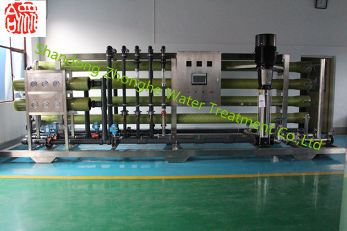 20M3/Hr FRP house single stage revers osmosis equipment china ro treatment system