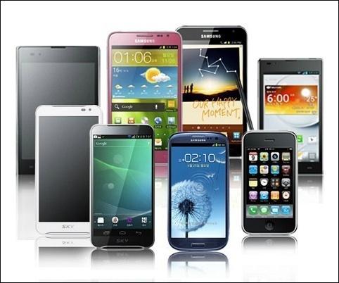 Samsung apple LG SKY Used Phone