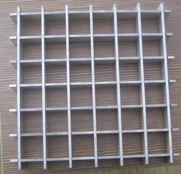 aluminum/stainless press lock grating grate