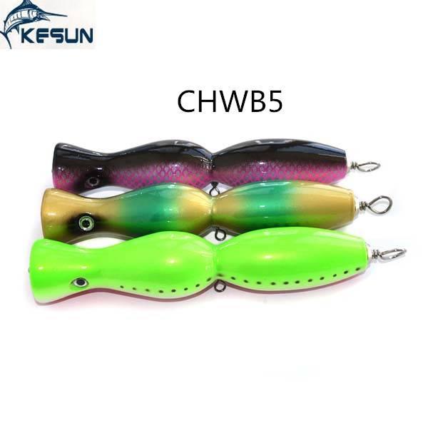 Professional manufactuer and supply CHWB5 many colors 175mm 80g wooden fishing lure