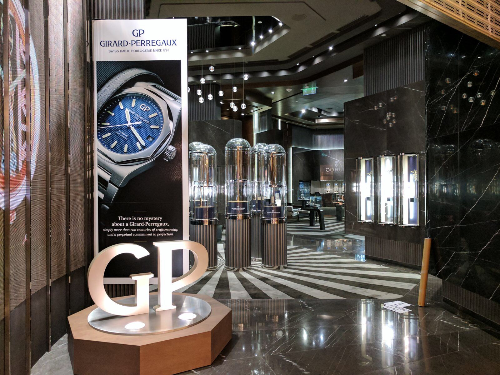 pop up for watches brand in Macau
