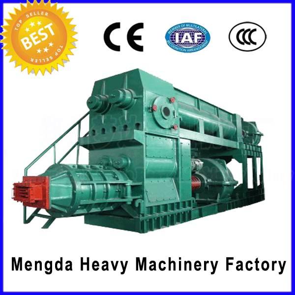 high output clay vacuum red brick making machine
