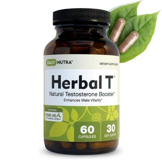 Herbal-T Natural Testosterone Booster