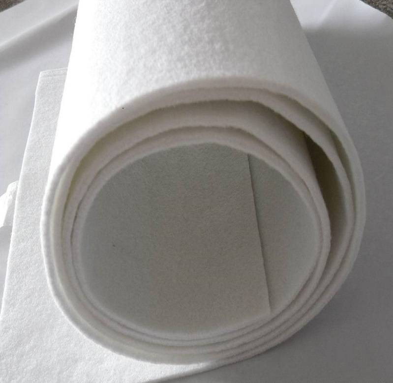 JiangSu AoKai 100% polyester staple fiber needle punched nonwoven fel