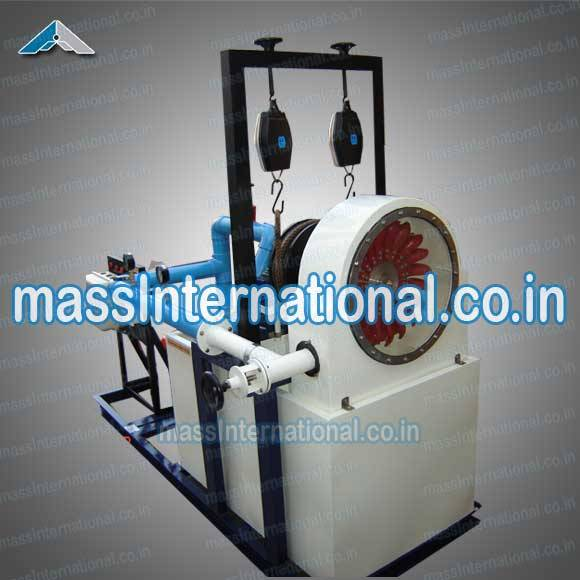 Pelton Wheel Turbine Test Rig  (HM-08 )