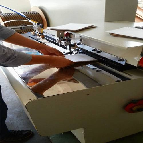 Semi-Automatic Book Punching and Binding Machine