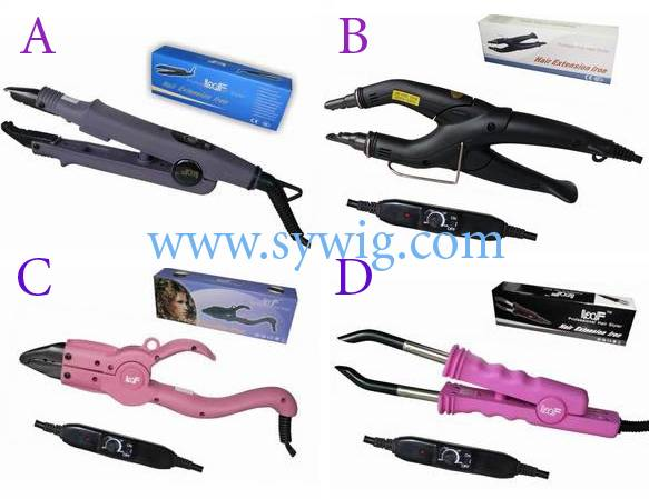 hair extension connector  /applicator/ wand/ iron