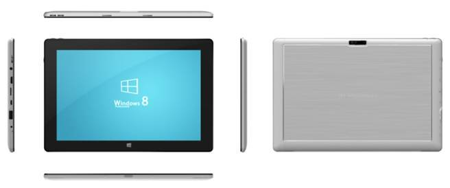 I102C, 10.1 inch Windows tablet, Quad-core, 1280*800 IPS, G+G, 2+32G, dual camera 2.0+5.0MP, metal h