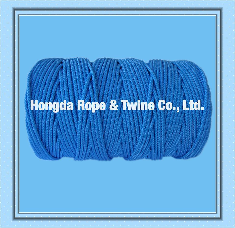 Light Bule Round 4mm Braided PP Rope