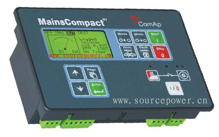 MC-NT MainsCompact NT MainsCompact-NT ComAp Multiple Systems Equipped Mains Controller