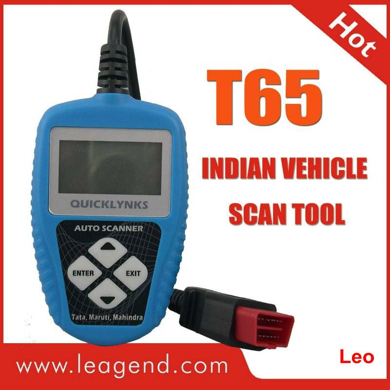 OBDII Indian Car Auto Code Reader T65