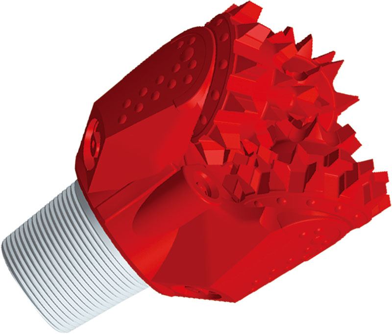 Three Cone Drill Bit For Soft Formation for water well drilling