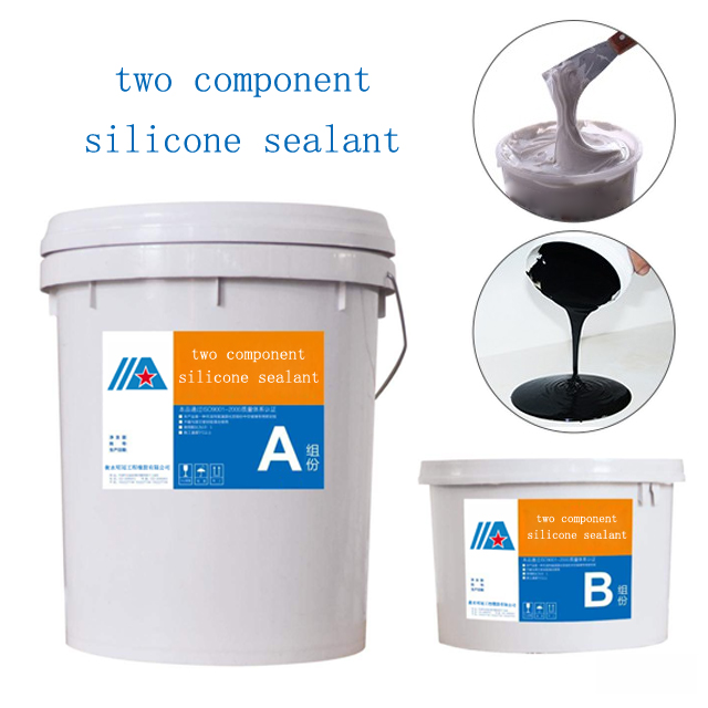 Excellent adhesion Two component silicone sealant adhesive for insulating glass