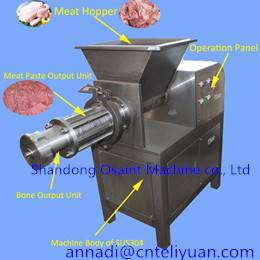MDM poultry deboning machinery