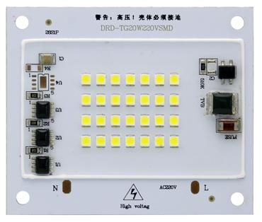 120lm/w high PF>0.9 AC Led module 10W, 50W,100watt 220v AC COB driverless COB led chip for PCcooler