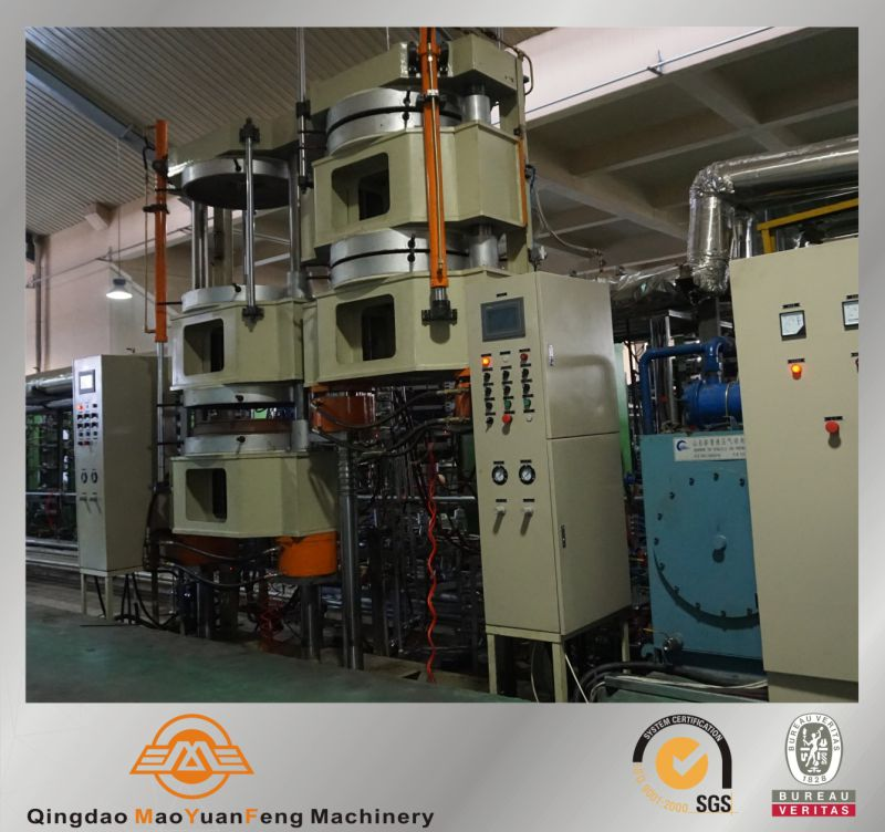 Nitrogen vulcanizing hydraulic curing press machine