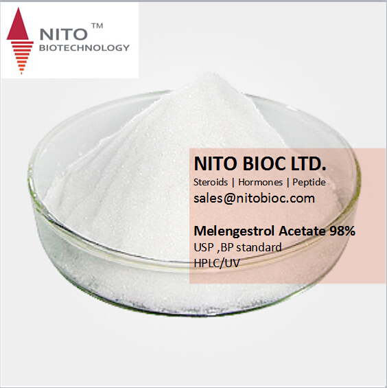 Factory Quality Control Melengestrol Acetate with high quality