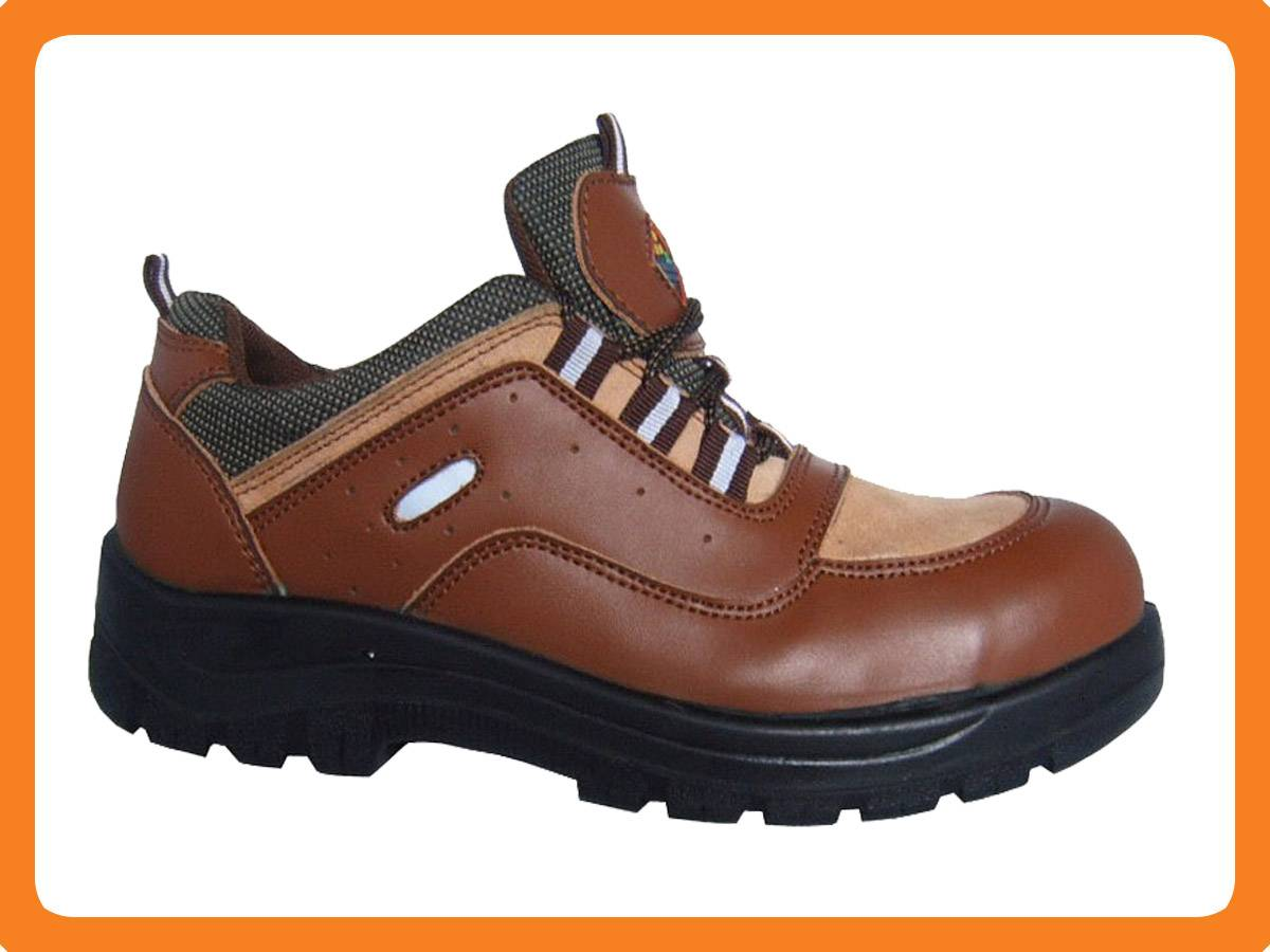 smooth leather safety shoes 300701
