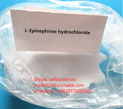 Pharmaceutical Chemicals L-Epinephrine HCl CAS 55-31-2
