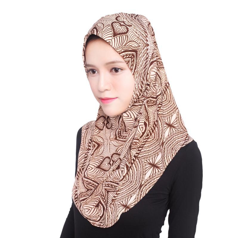 Beautiful Pattern Soft Muslim Hijab Head Cover Scarf