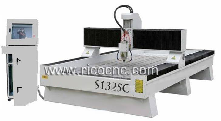 Stone Cutting CNC Router Granite Carving Machine Marble Cutting Tool S1325C