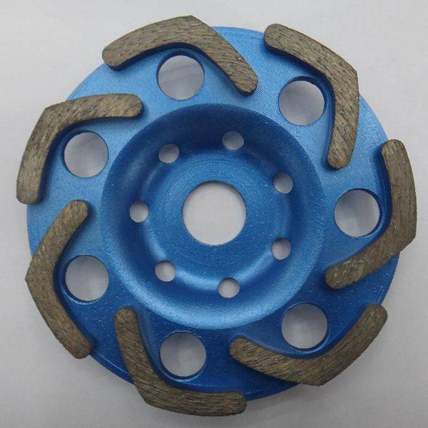 Fan Shape Diamond Concrete Turbo Grinding Cup Wheels
