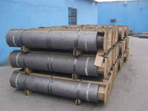 High carbon graphite electrode