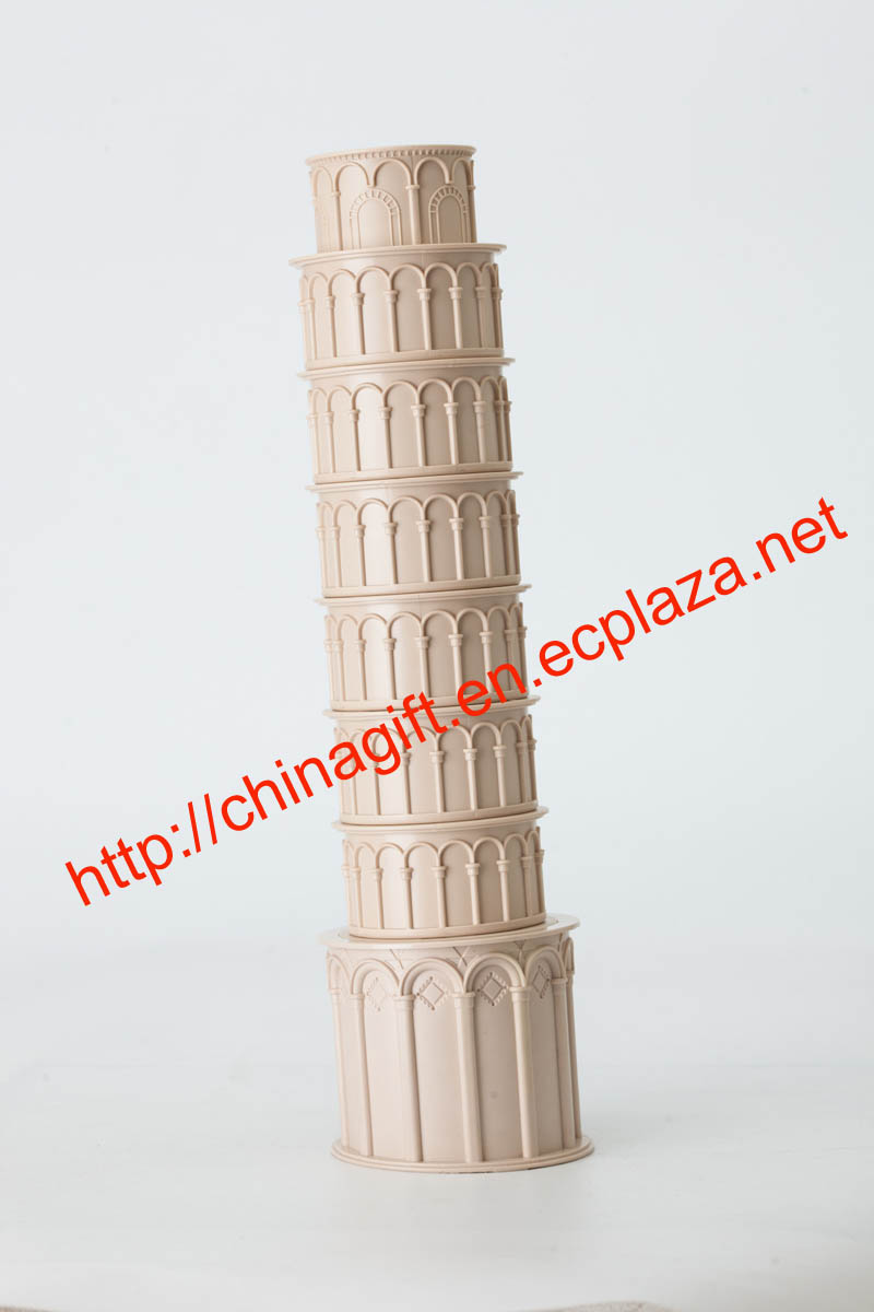 Leaning Tower of Pisa creative cup sets