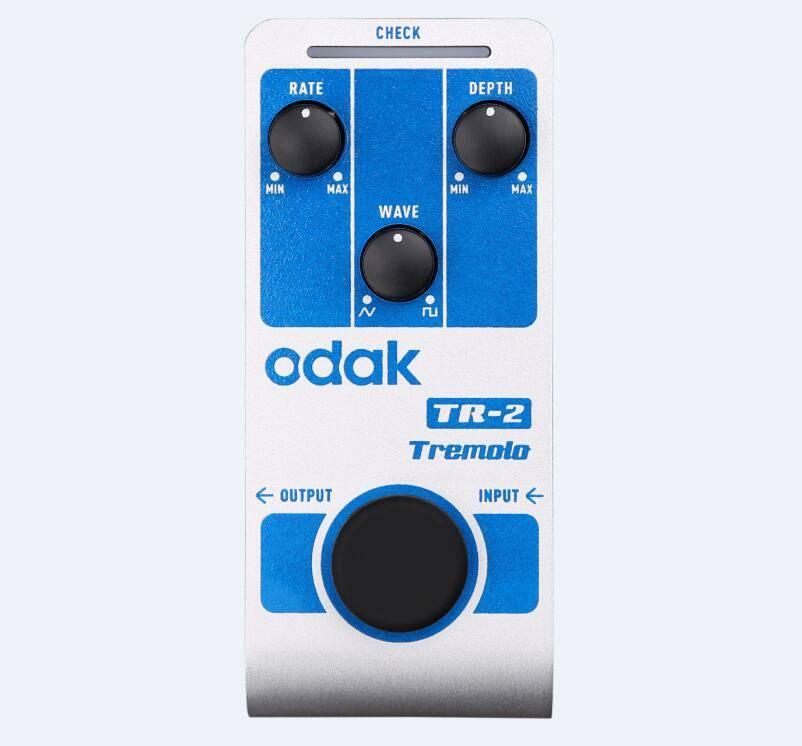 odak TR-2 odak Effectors Guitar Effect Pedal Soft Distoration guitar effects pedals OEM guitar pedal