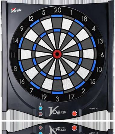 Global Online Electronic Dartboard-- For entertainment!