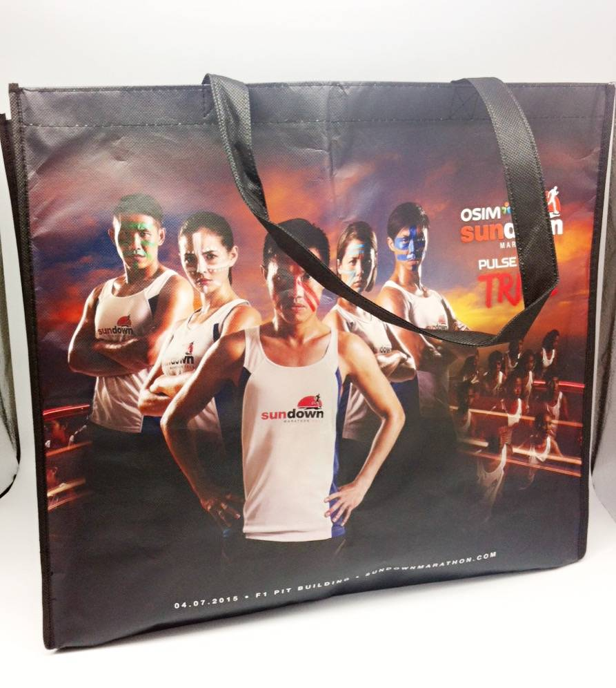 Non-woven material event Bags